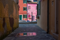 REFLECTION OF BURANO